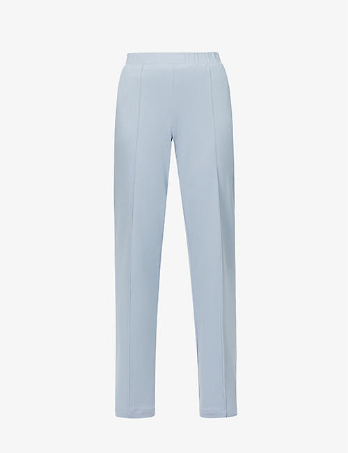 HANRO: Pure Comfort high-rise stretch-jersey pyjama trousers