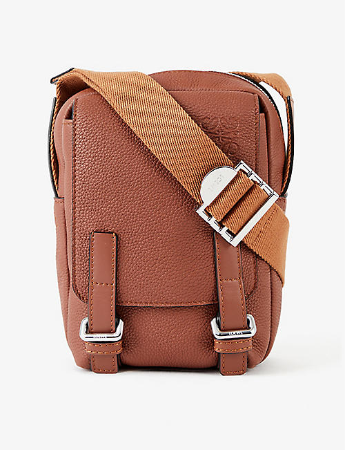 LOEWE: Military XS leather cross-body bag
