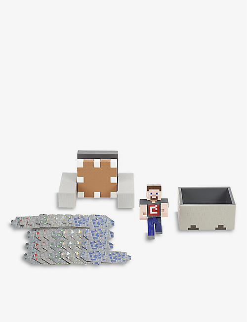 MINECRAFT: Minecart Mayhem play set