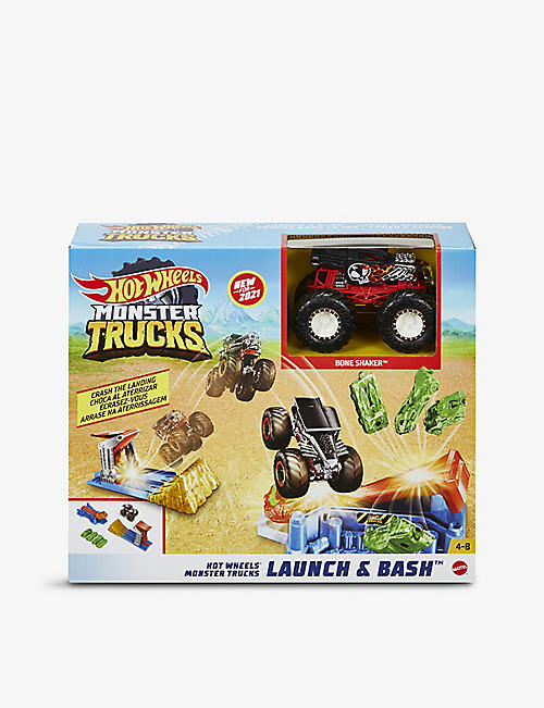 HOTWHEELS: Monster Trucks Launch and Bash play set