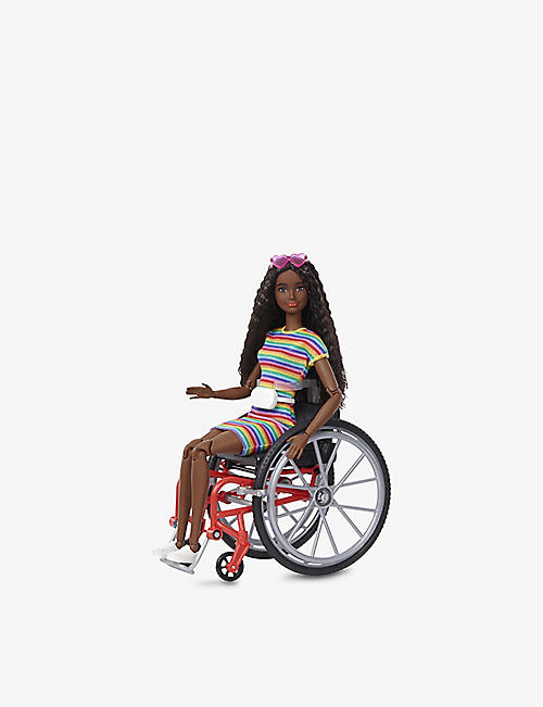 BARBIE: Barbie Fashionista with wheelchair doll 15.7cm
