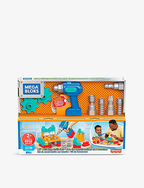 MEGA BLOX: Lil' Building drilling play set