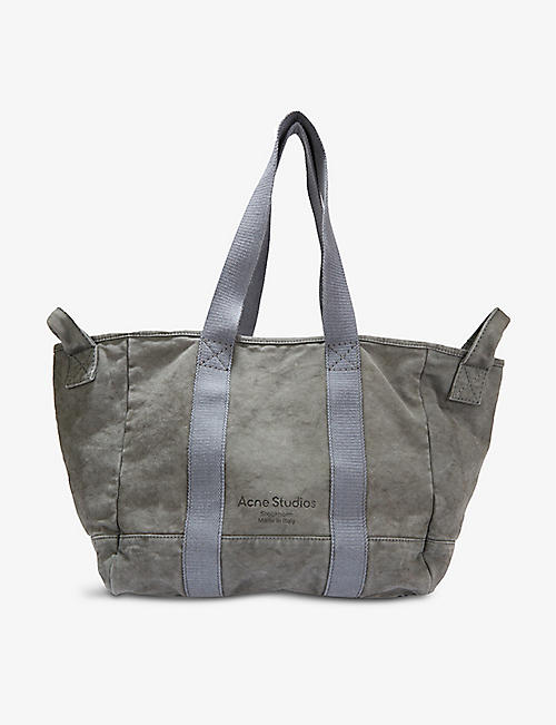ACNE STUDIOS: Webbing cotton-canvas tote bag