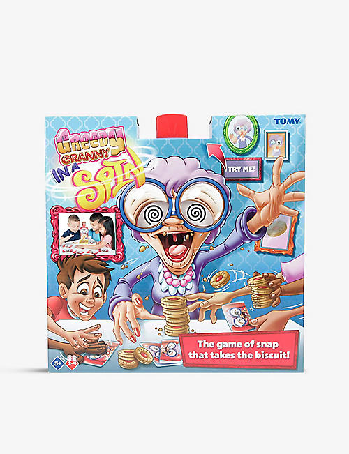 BOARD GAMES: Greedy Granny in a Spin board game
