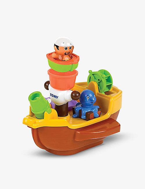 TOMY: Pirate Ship bath toy 8.5cm