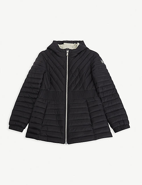 MOOSE KNUCKLES: Go Betty quilted nylon jacket 10-16 years