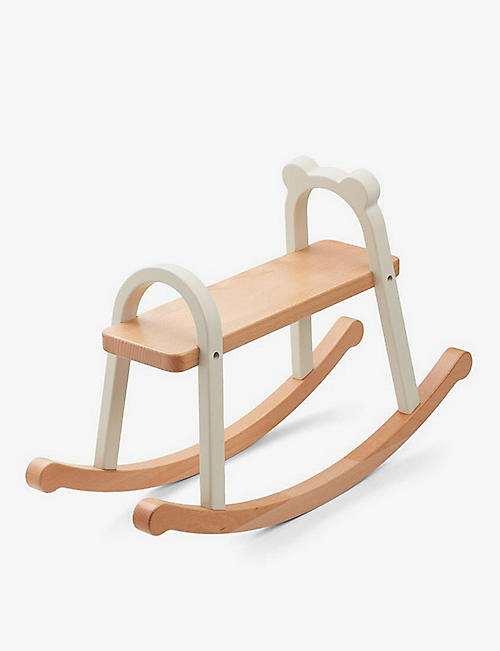 LIEWOOD: Lina lacquered wood rocking horse 40cm