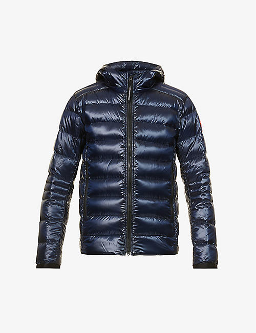 CANADA GOOSE: Crofton quilted recycled-nylon hooded jacket