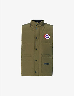 CANADA GOOSE: Freestyle padded slim-fit shell-down gilet
