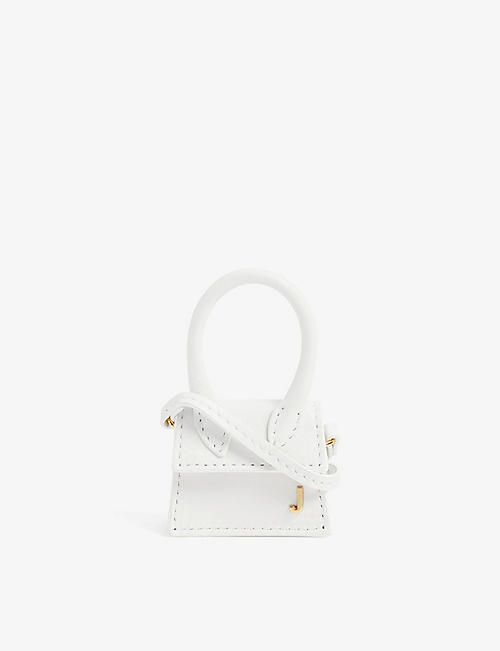 JACQUEMUS: Le Chiquito mini leather top handle bag