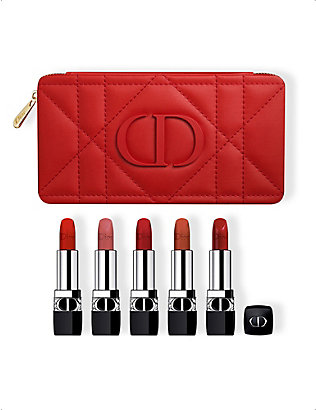 DIOR: Rouge Dior Couture Colour Refillable Lipstick Collection gift set