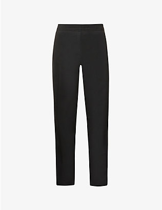 RAF SIMONS: Raf Simons Archive Redux contrast-side relaxed-fit woven jogging bottoms