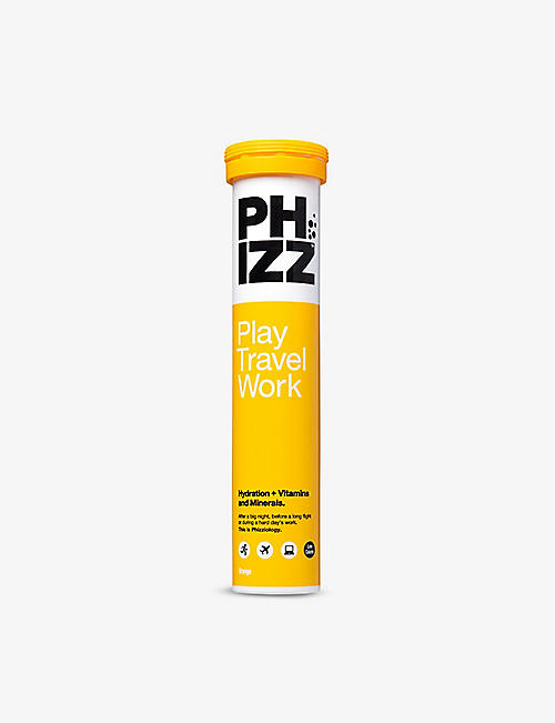 PHIZZ: Multivitamin Hydration 2-in-1 orange 20 tablets
