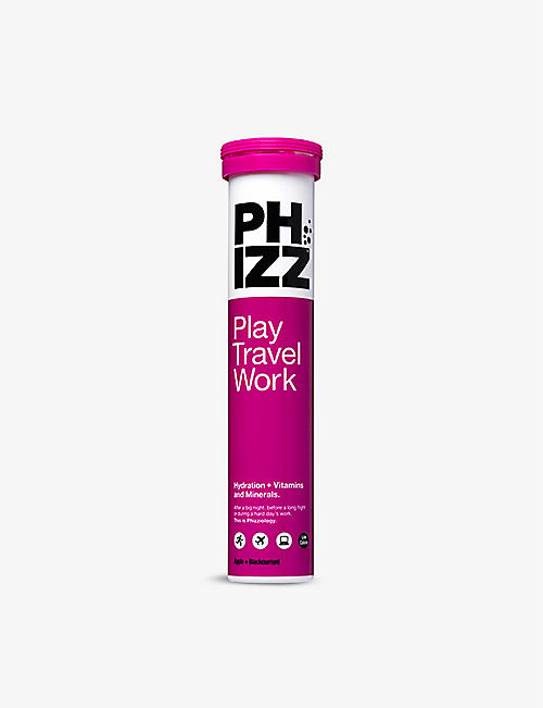 PHIZZ: Multivitamin Hydration 2-in-1 Apple & Blackcurrant 20 tablets