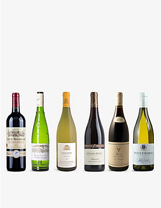 WINE CASE: French Classics mixed case 6x750ml