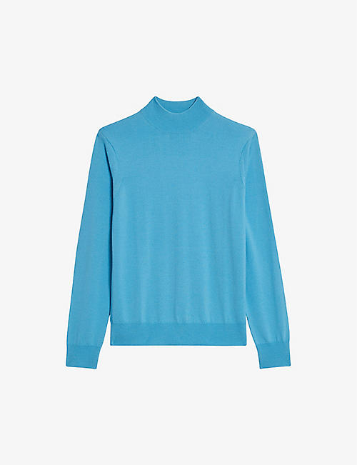 SANDRO: Industrial stretch-woven jumper