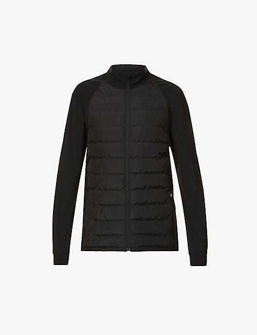 CASTORE: Quilted shell jacket