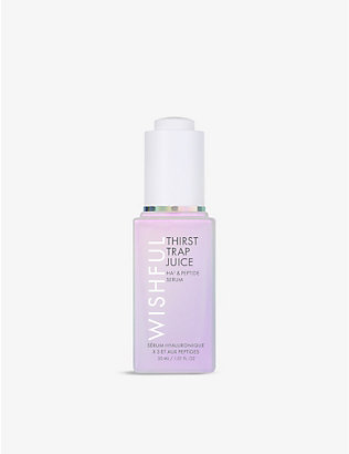 HUDA BEAUTY: WISHFUL Thirst Trap Juice Ha3 & Peptide serum 30ml