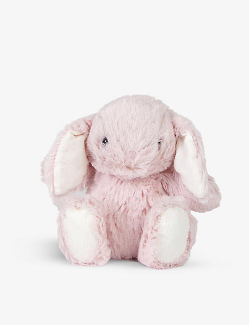 THE LITTLE WHITE COMPANY: Binky Bunny small soft toy 13cm