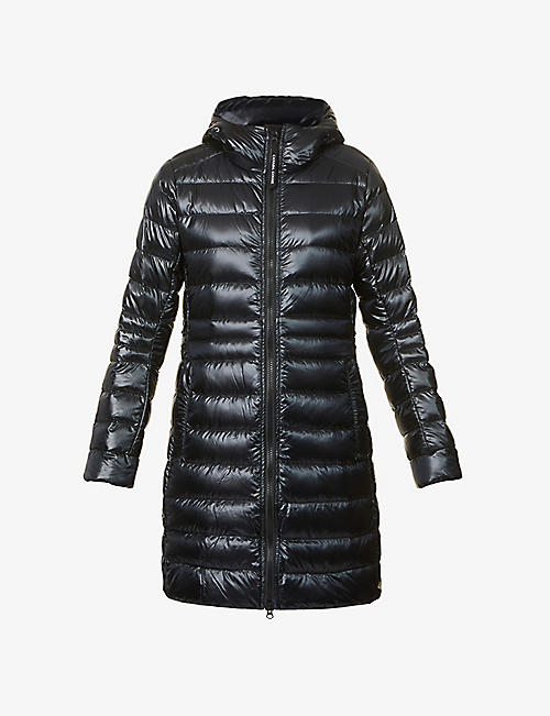 CANADA GOOSE: Cypress hooded shell-down jacket