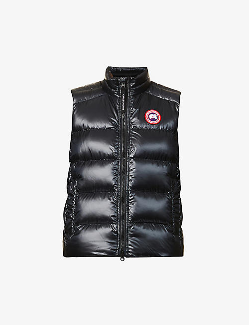 CANADA GOOSE: Cypress padded recycled nylon-down gilet