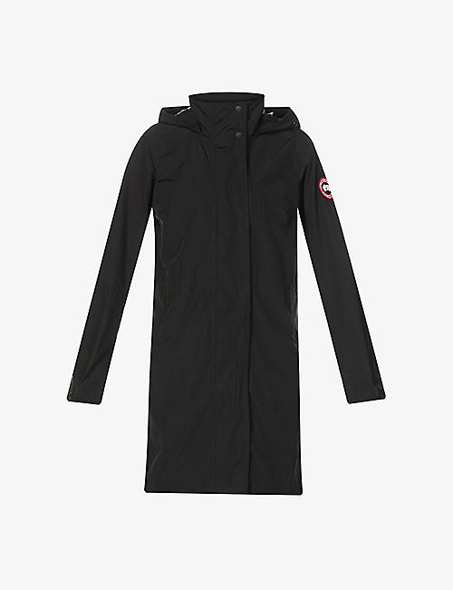 CANADA GOOSE: Belcarra funnel-neck shell jacket