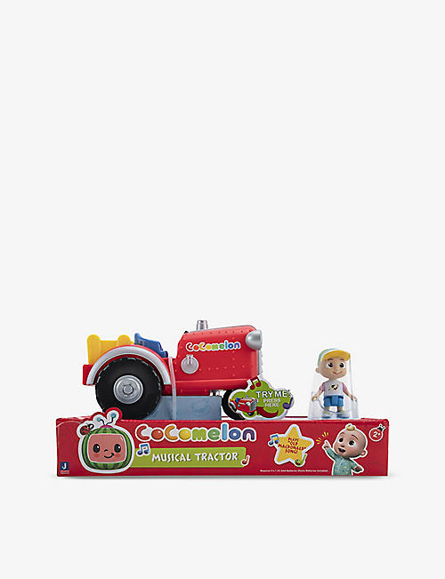 COCOMELON: Musical tractor toy