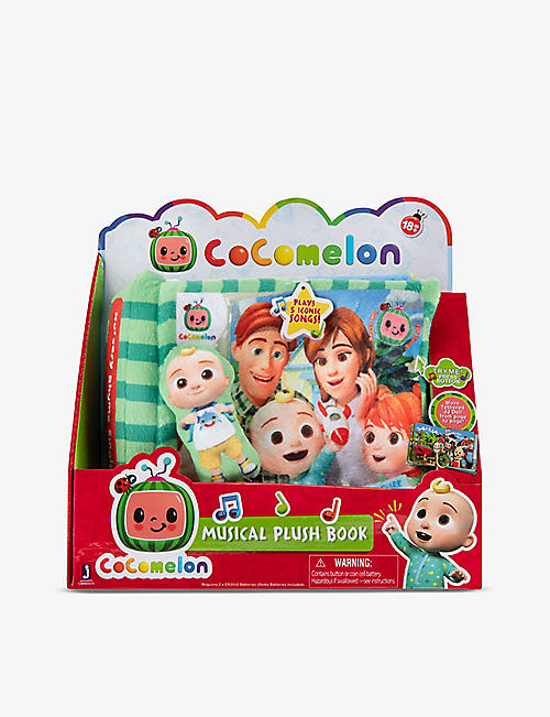 COCOMELON: Singing Time plush audiobook