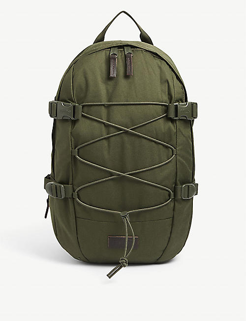 EASTPAK: Borys compression-strap padded backpack