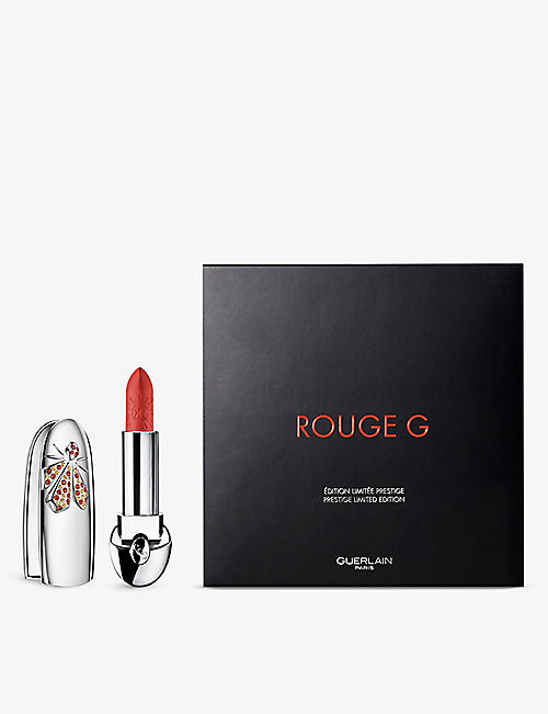GUERLAIN: Rouge G de Guerlain Lunar New Year 21 lipstick case and refill 3.5g