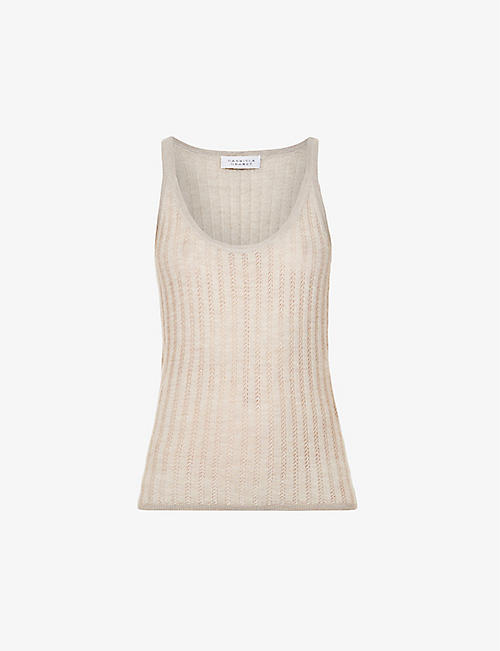 GABRIELA HEARST: Nevin cashmere and silk-blend vest