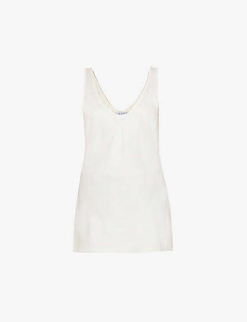 GABRIELA HEARST: Kori scoop-neck silk-cashmere top