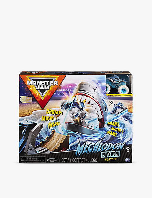 MONSTER JAM: Megalodon Mayhem 1:64 play set