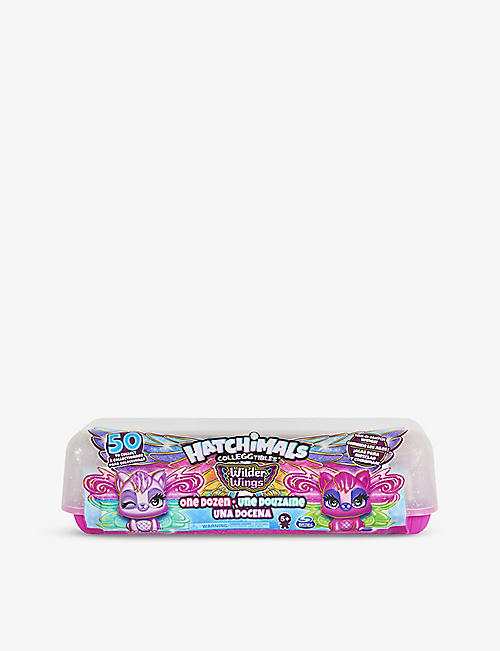 HATCHIMALS: Colleggtibles Wilder Wings assorted figures pack of 12