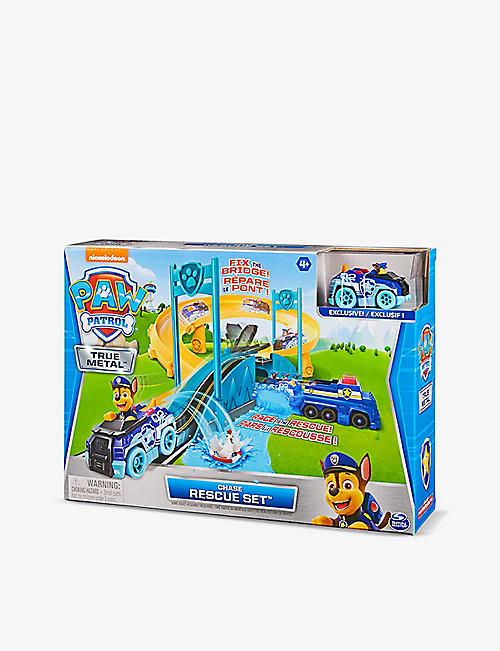 PAW PATROL: True Metal Chase's Police Rescue playset