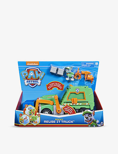 PAW PATROL: Rocky Reuse It truck play set