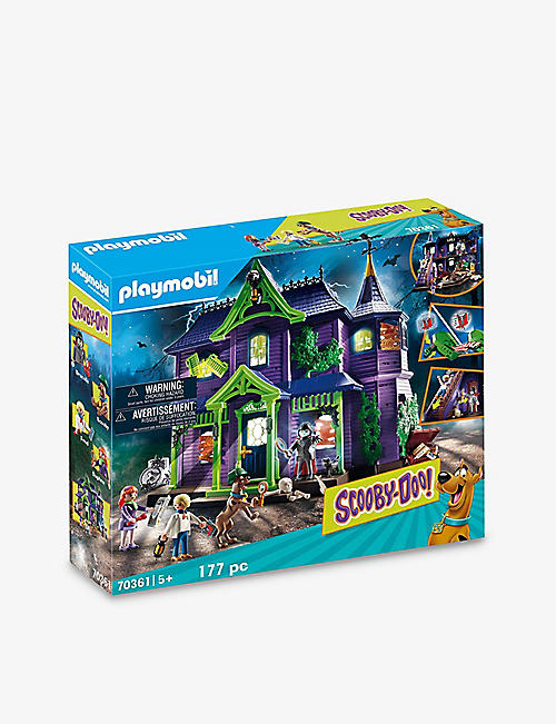 PLAYMOBIL: Scooby Doo! Mystery Mansion playset