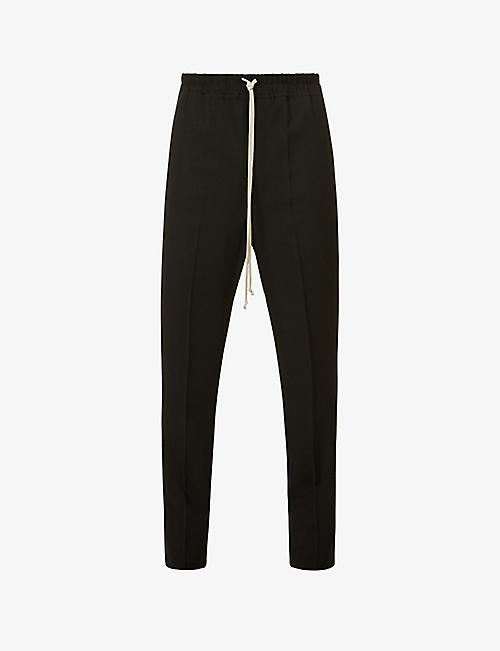 RICK OWENS: Astaires relaxed-fit wool-blend trousers