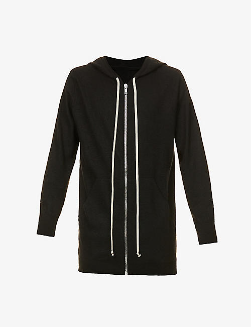 RICK OWENS: Relaxed-fit cashmere hoody