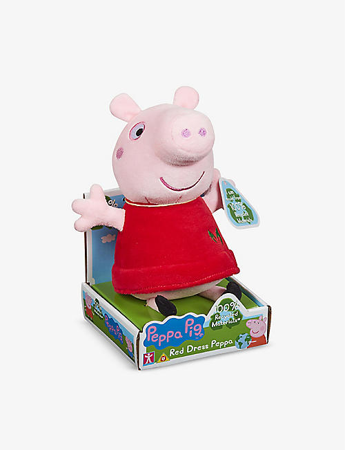 PEPPA PIG: Peppa Pig recycled-fibre soft toy
