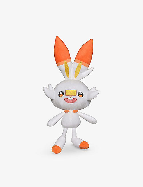 POKEMON: Scorbunny soft plush toy 20cm 3+ years
