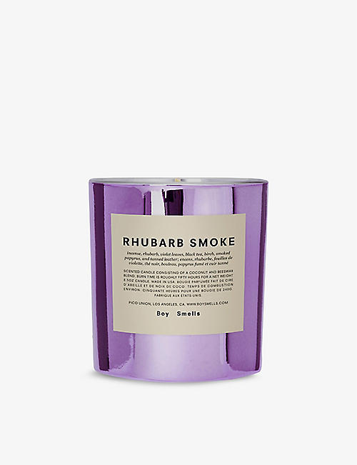BOY SMELLS: Rhubarb Smoke scented candle 240g