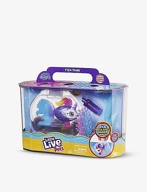 LITTLE LIVE PETS: Lil Dippers plastic fish playset