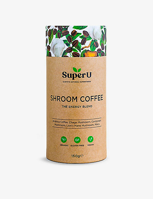 SUPER U: Shroom Coffee Energy Blend 150g