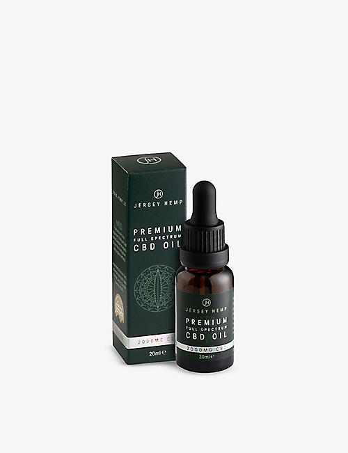 JERSEY HEMP: Premium Full Spectrum CBD oil 10% 20ml