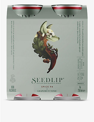 SEEDLIP: Spice 94 grapefruit tonic 4x250ml