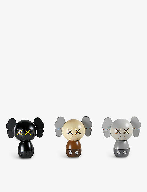 LOUGHER CONTEMPORARY: KAWS: Holiday Japan kokeshi doll set