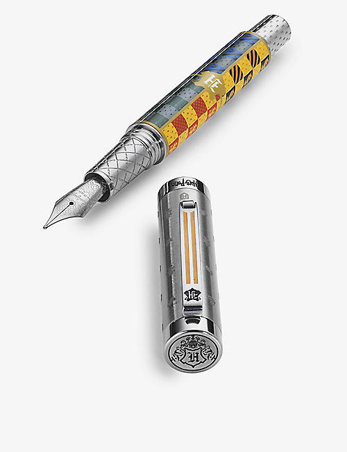 MONTEGRAPPA: Harry Potter Hogwarts stainless-steel fountain pen