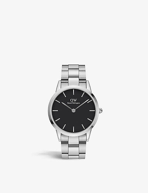 DANIEL WELLINGTON: DW00100342 Iconic Link stainless-steel Japanese Quartz watch