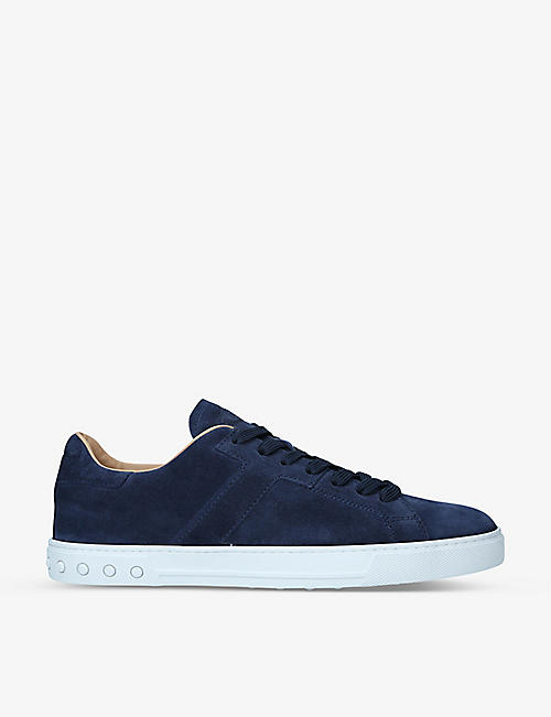 TODS: New Mod Sport suede low-top trainers